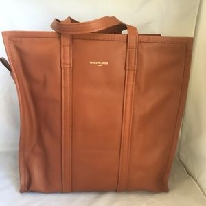 Balenciaga Bazar Shopper Medium Tote, Brown